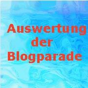 Auswertung der Blogparade