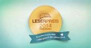 lovelybooks Leserpreis 2014